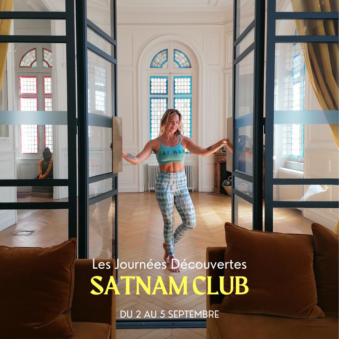 Journées Découvertes Satnam Club Septembre 2021